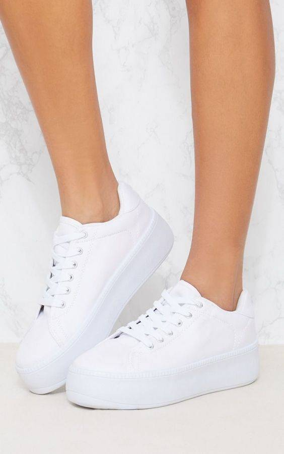 Flat Form Sport Shoes