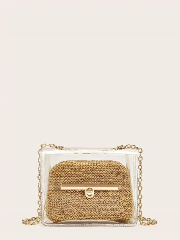 Small golden bag