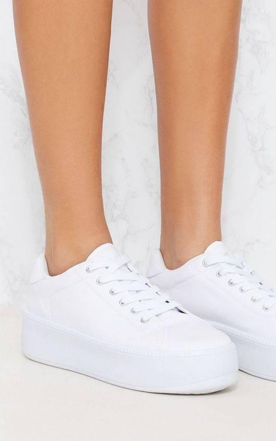 حذاء رياضي فلات فورم