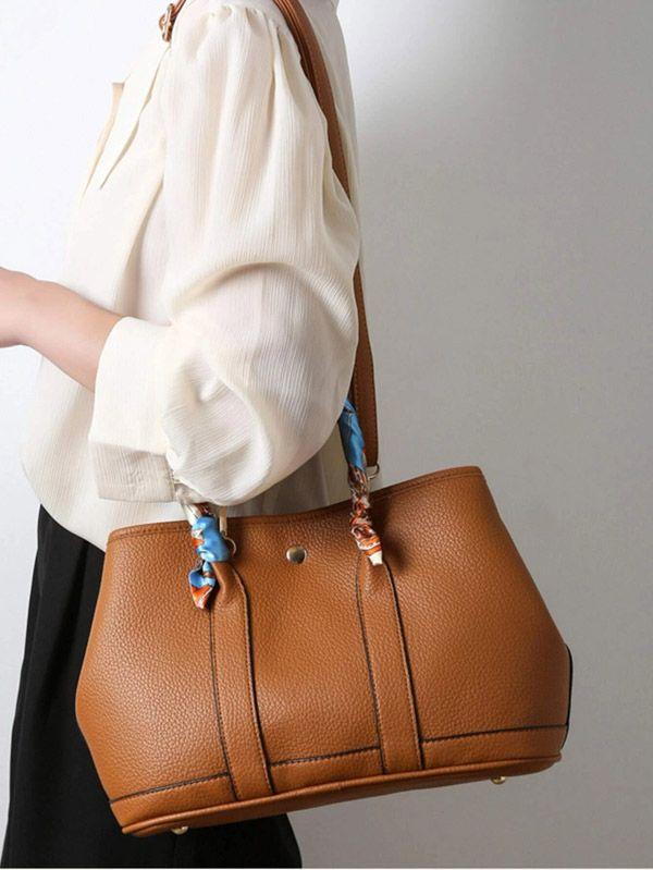 حقيبة يد نسائية بني-5