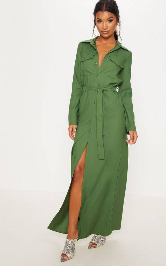 Maxi Long Sleeve Dress