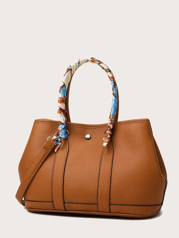 حقيبة يد نسائية بني-7