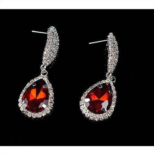 Crystal Crystal Earrings