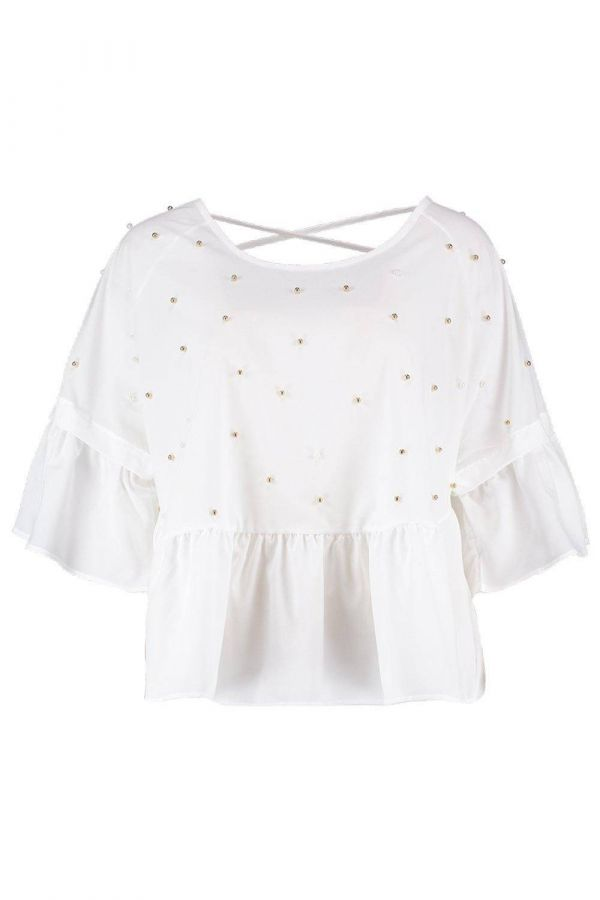 Blouse embroidered blouse