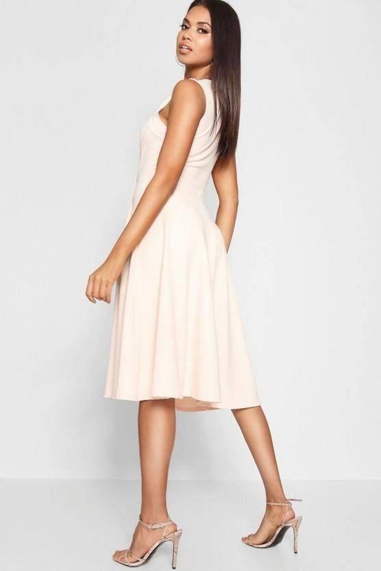 فستان ميدي مناسبة خاصة -3
