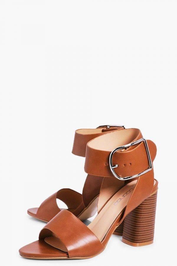 High heel Square of Boho