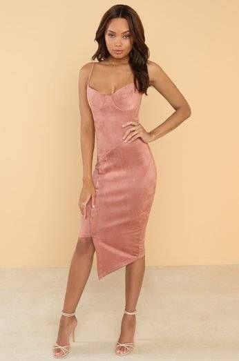 JetMay Pink Dressed Dress
