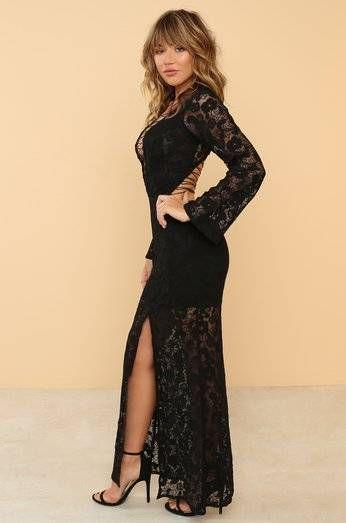 Havat first black dress