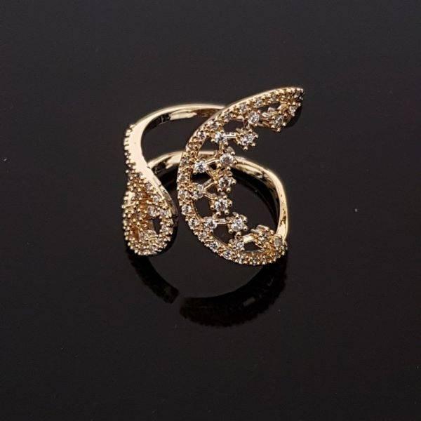 خاتم كيرف زركون تقليد الماس