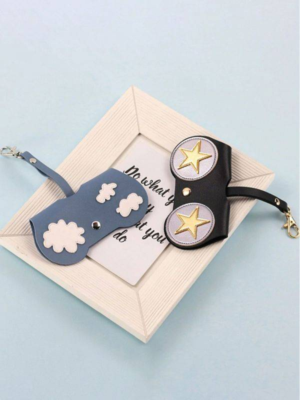Stars Design sunglasses bag