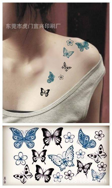 Tatoo Butterflies