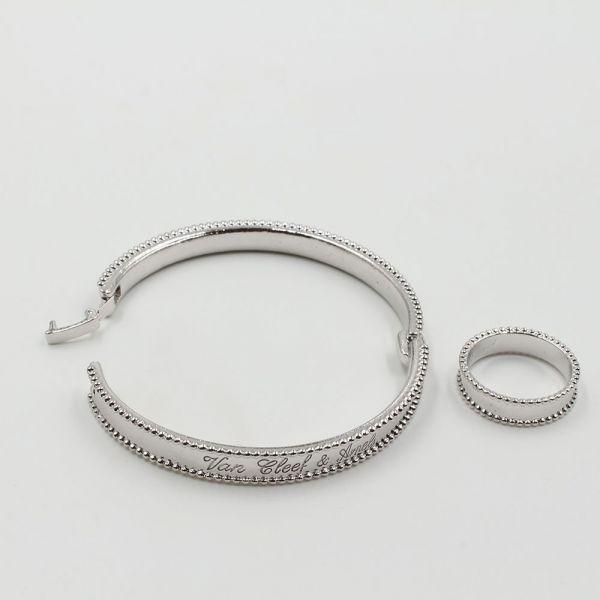 طقم اسواره وخاتم فان كليف & اربلز SLIM-3