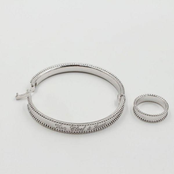 طقم اسواره وخاتم فان كليف & اربلز SLIM-4