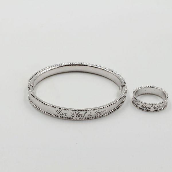 طقم اسواره وخاتم فان كليف & اربلز SLIM