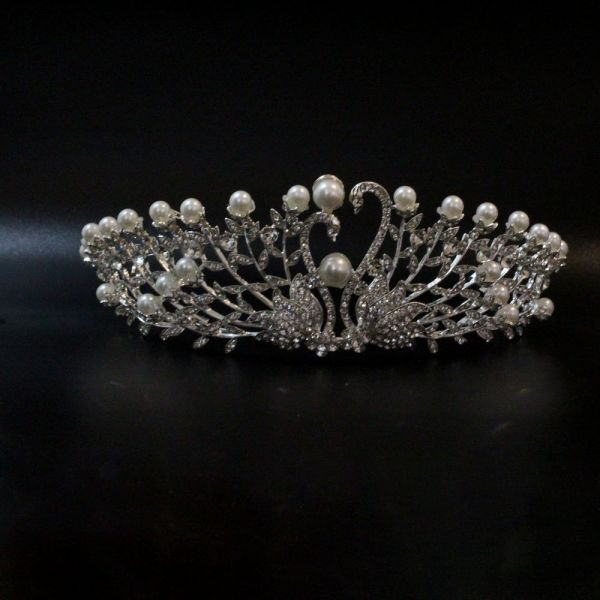 Hair accessories Taj crown crystal
