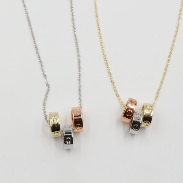سلسال كارتير حلقات معدنيه ملونه-7