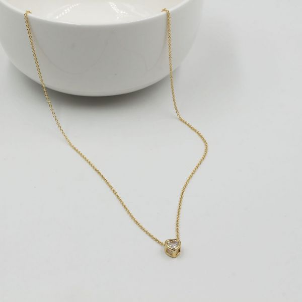 A smooth heart catenary