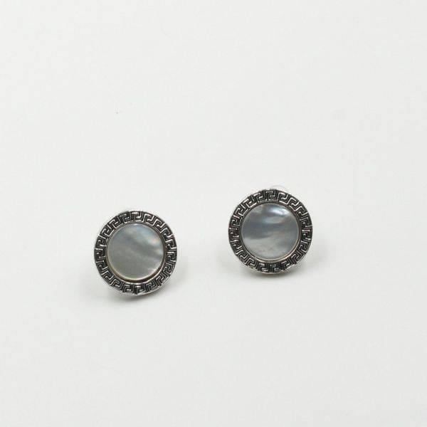 Versace seashell earring