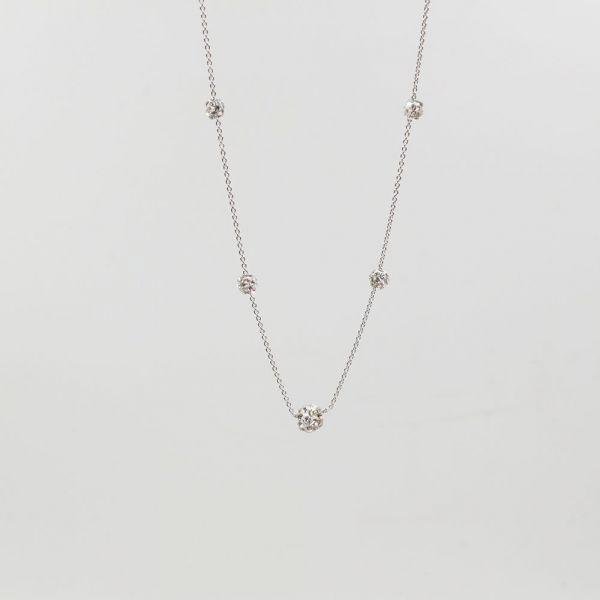 Catenary Crystal Bulls Necklace