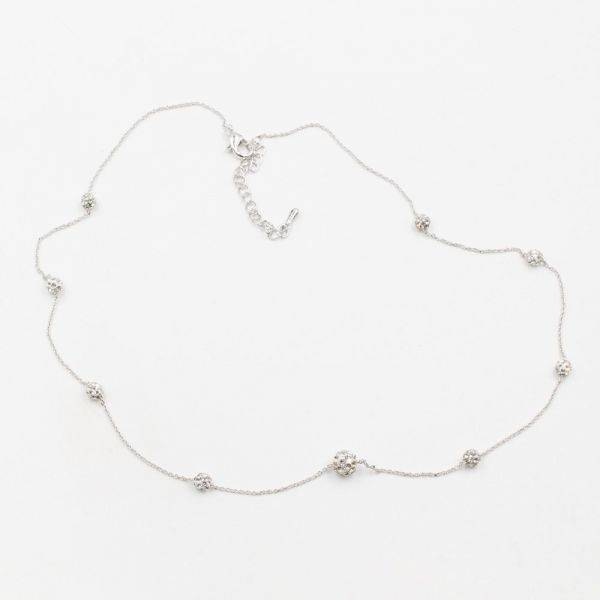 Catenary Crystal Bulls Necklace