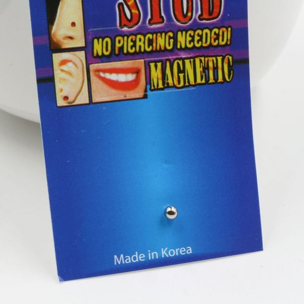 The magnet of a metal magnet
