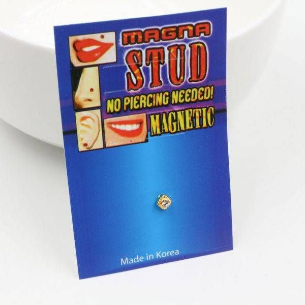 Pull the metal magnet box with a pluck