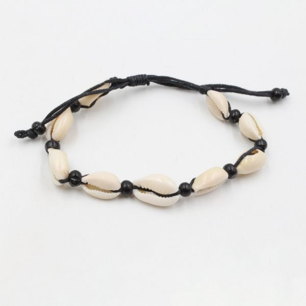 Watch Black Seashell Bracelet