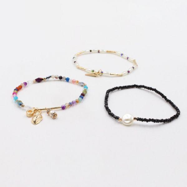 Colored bracelets