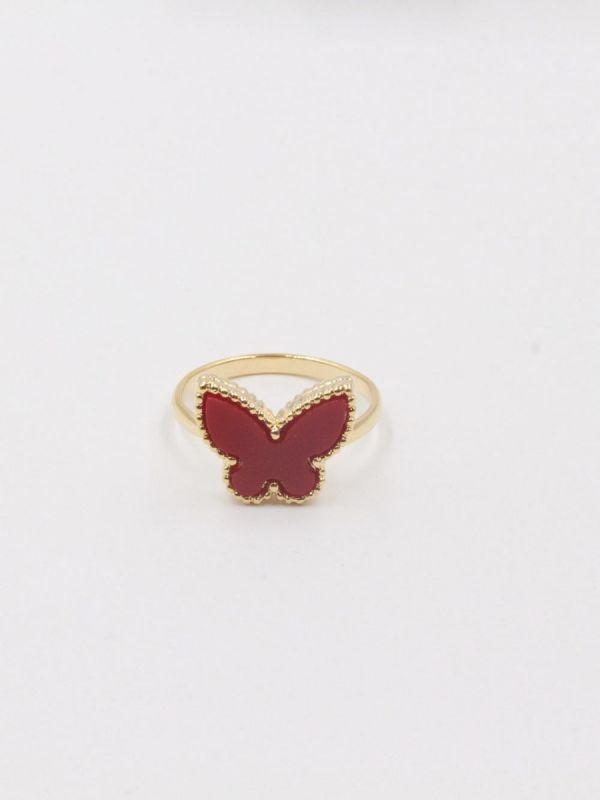 خاتم فان كليف فراشة-4