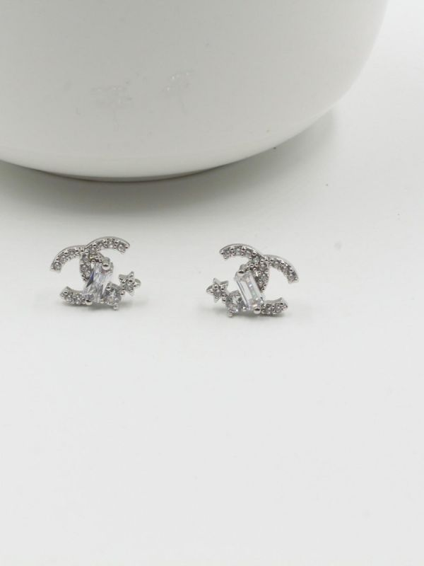 Chanel Earring, Soft Cubic Zirconia