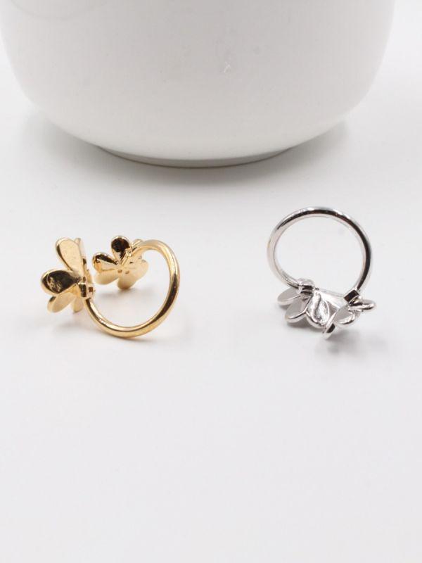 خاتم فان كليف وردتين-4