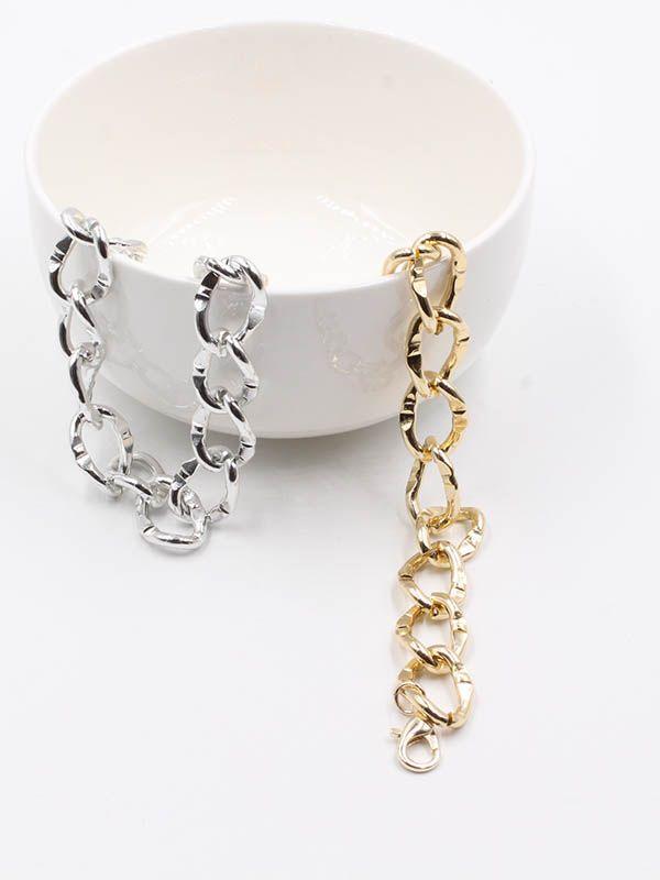 A large chain bracelet