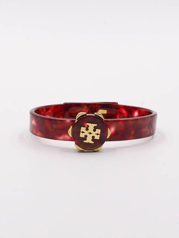 Tory Burch Circle Acrylic Bracelet