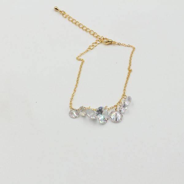 Bracelet dandruff cubic zirconia