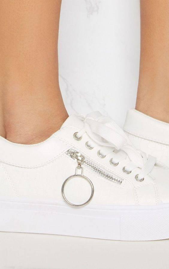 White sportswear