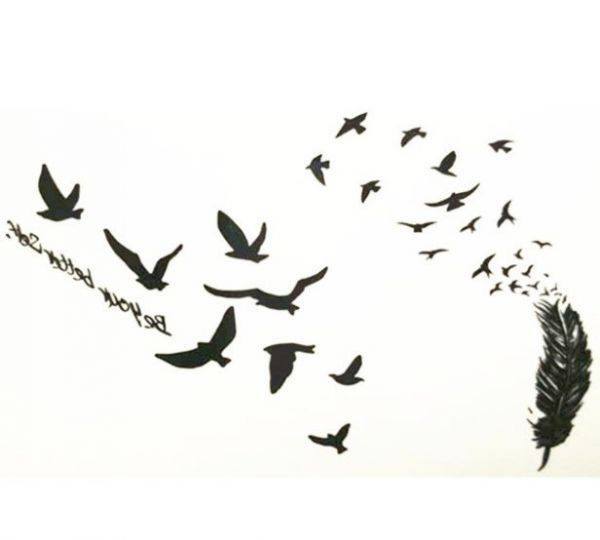 تاتو طيور