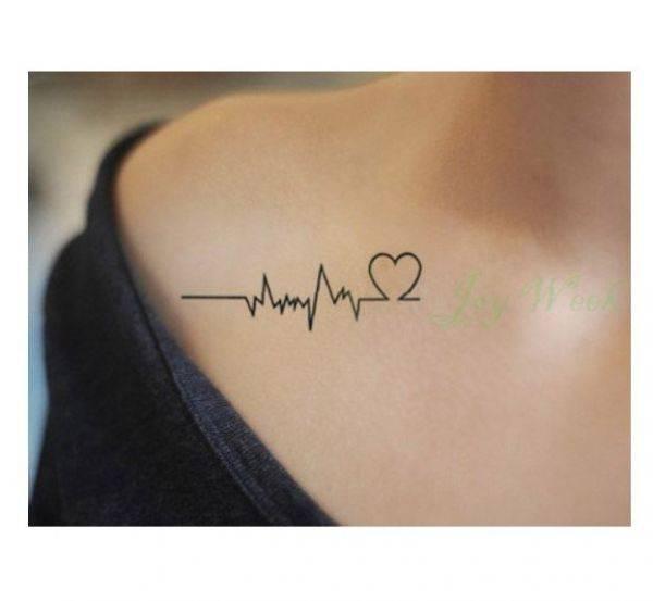 تاتو نبض القلب-1
