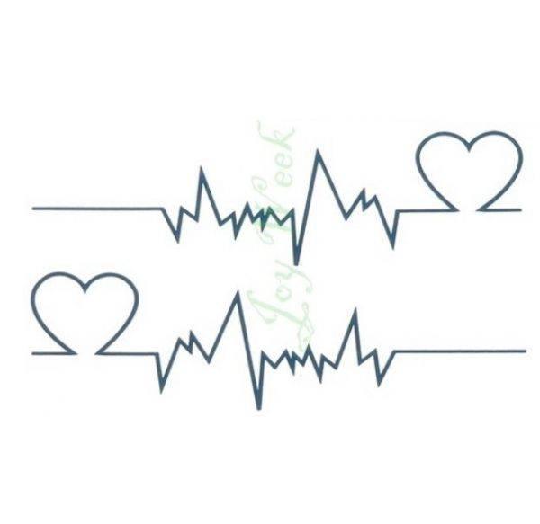 تاتو نبض القلب-4