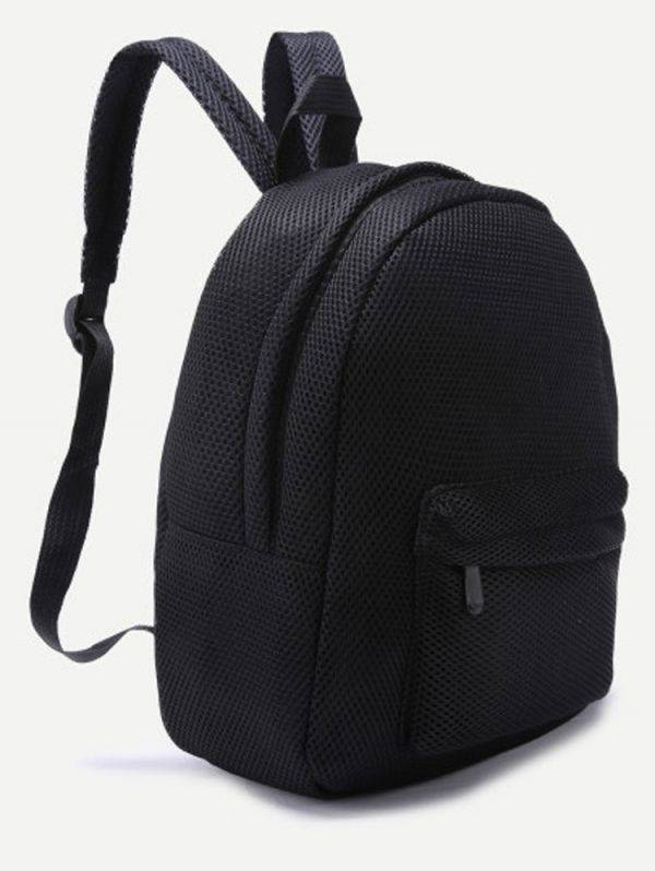 Large black backpack