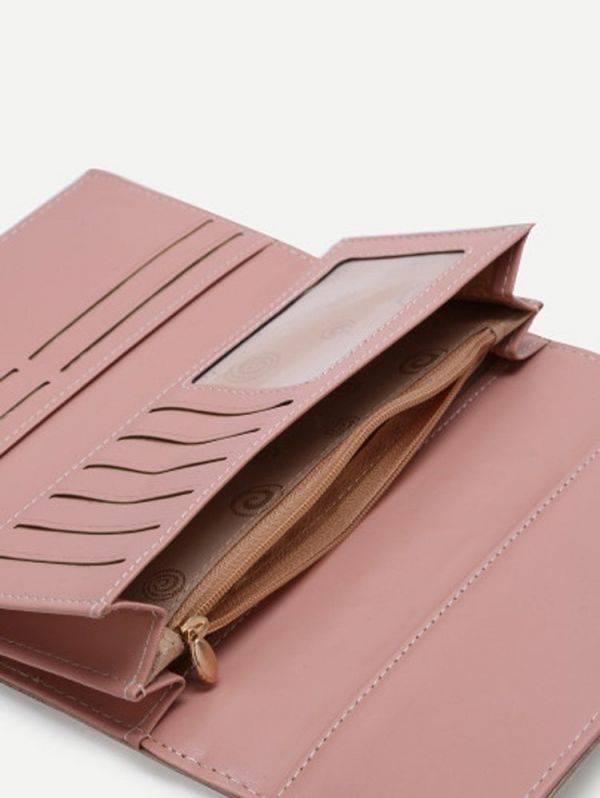 محفظة انيقة نسوية ذهبية-3