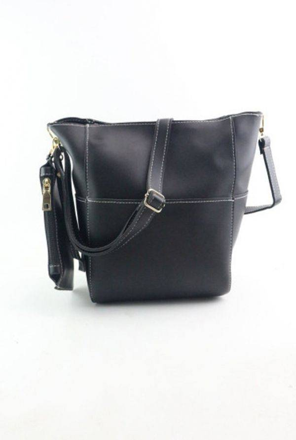 Large women's bag with separate small purse