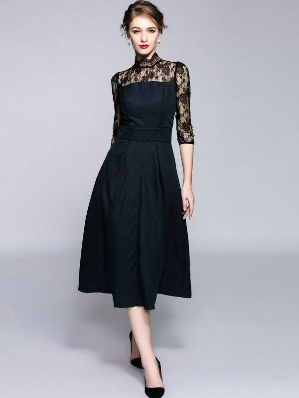 Black Long Maxi Dress