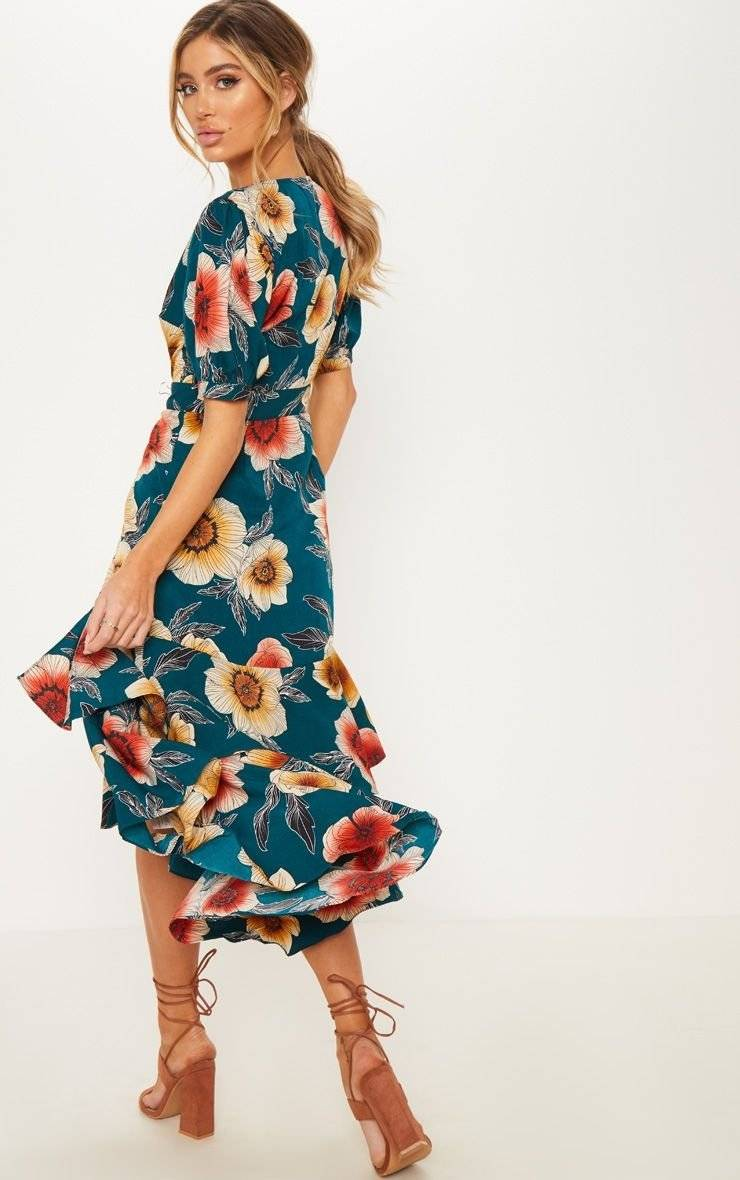 فستان مشجر